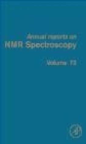 Annual Reports on NMR Spectroscopy v73