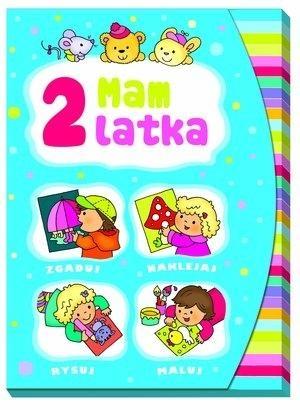 Mam 2 latka Teczka Zgaduj naklejaj rysuj maluj Wiśniewska Anna