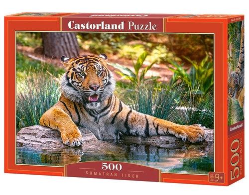 Puzzle Sumatran Tiger 500 (B-52745)