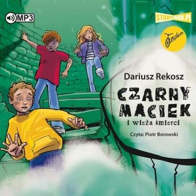 Czarny Maciek i wieża śmierci audiobook Dariusz Rekosz