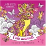 Kolorowanka antystresowa 200x200 12 Cute animals