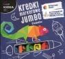 Kredki markerowe Jumbo 8 kolorów