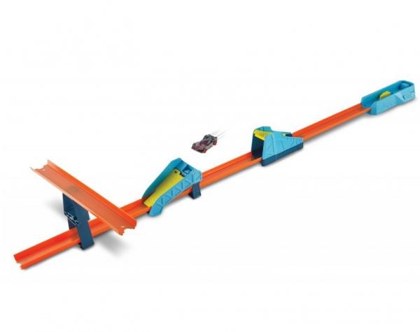 Hot Wheels Track Builder Unlimited: Długi skok - zestaw do rozbudowy (GLC87/GLC89)