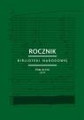 Rocznik Biblioteki Narodowej Tom 48