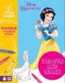 Colour and learn Księżniczki Koloruję i poznaję słowa Disney English