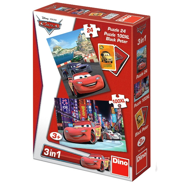 Puzzle Dino Cars 3w1 (658745)