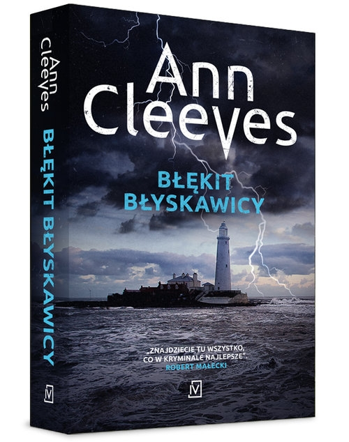 Błękit błyskawicy (Uszkodzona okładka) Ann Cleeves