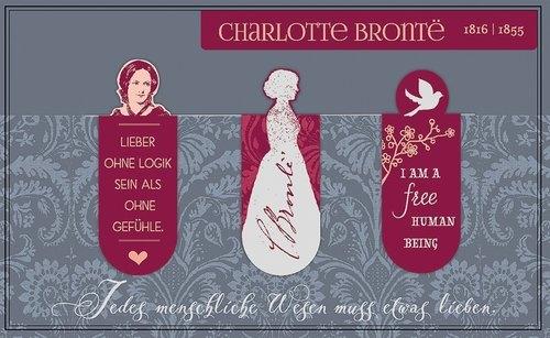 Zakładki Magnetyczne Charlotte Bronte 3 sztuki