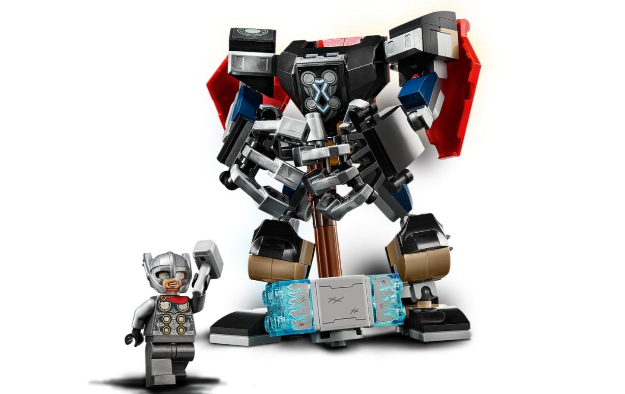 Lego Marvel Super Heroes: Opancerzony mech Thora (76169)