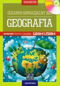 Geografia Vademecum Egzamin gimnazjalny 2012 z płytą CD Dąbrowska Bożena, Zaniewicz Zbigniew