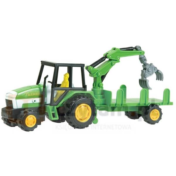 DROMADER Zest. Farma Traktor z przyczepą (00474)