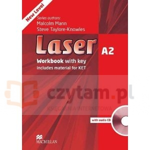 Laser 3ed A2 WB with key +CD Steve Taylore-Knowles, Malcolm Mann