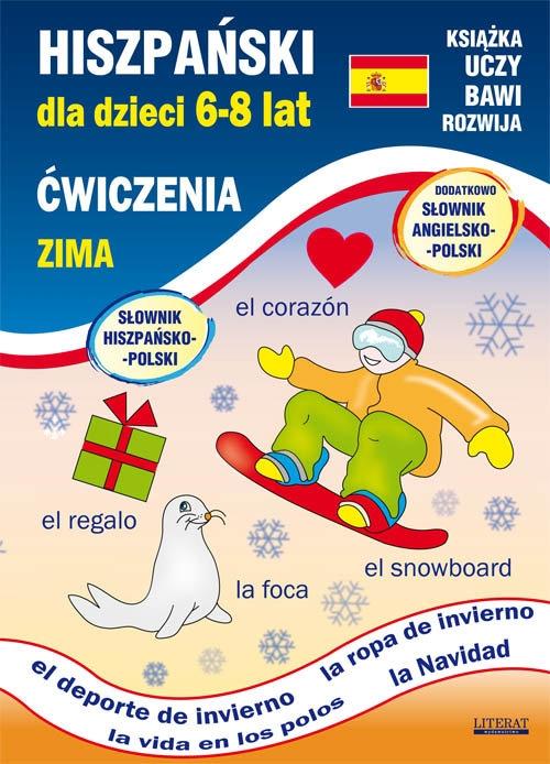 Hiszpański dla dzieci 6-8 lat - Zima Jewiak Hanna, Piechocka-Empel Katarzyna