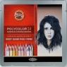 Kredki Polycolor 24 kolory Portret (3824)