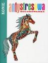 Antystresowa kolorowanka Konie