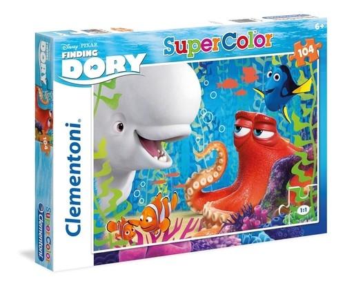 Puzzle Supercolor Gdzie jest Dory 104