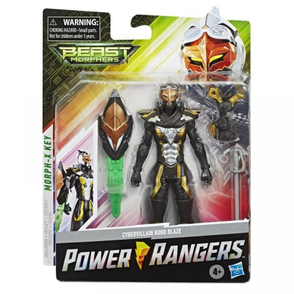 Figurka Power Rangers 15 cm, Cybervillain Gold (E5915/E7829)