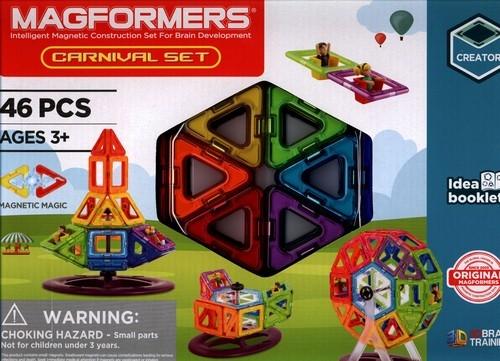 Magformers Carnival Set Klocki magnetyczne - 46 elementów (703001). Wiek: 3+