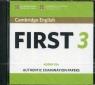 Cambridge English First 3 CD-Audio