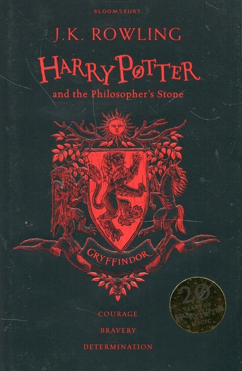 Harry Potter and the Philosopher's Stone. Gryffindor Rowling J.K.