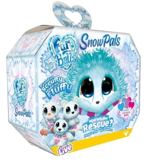 Fur Balls: Maskotka niespodzianka - Snow Pals (FUR639S)