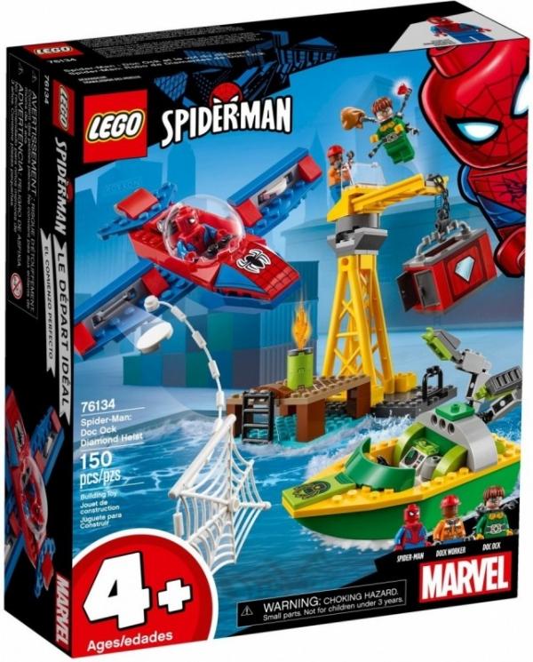 Klocki Super Heroes Doktor Octopus - skok na diamenty (76134)