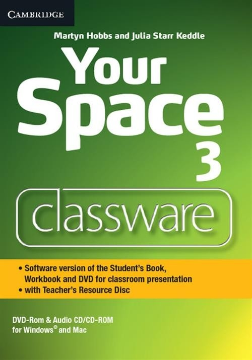Your Space Level 3 Classware DVD-ROM with Teacher's Resource Disc Hobbs Martyn, Keddle Julia Starr