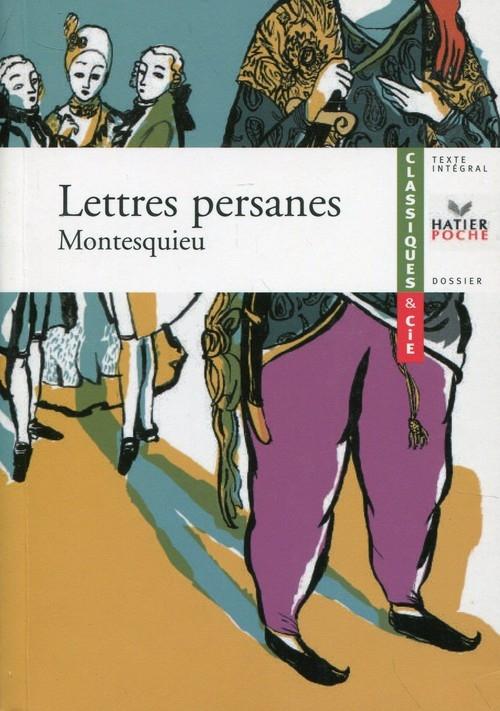 Lettres persanes Montesquieu