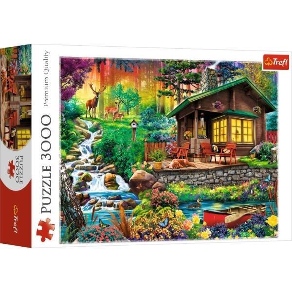Puzzle 3000: Chatka w lesie