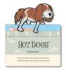 Zwierzęca zakładka do książki - Dogs - Pies Chuck