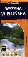 Wyżyna Wieluńska mapa turystyczna 1:50 000