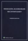 Krakauer-Augsburger Rechtsstudien Normschaffung