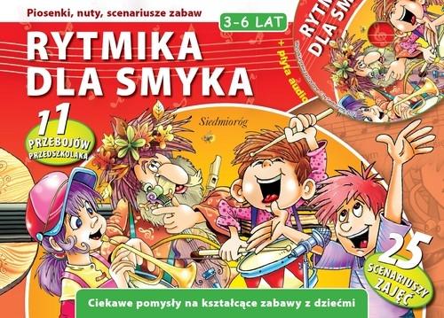 Rytmika dla smyka + płyta CD Inglot Urszula, Jackowska Anna, Szcześniak Beata