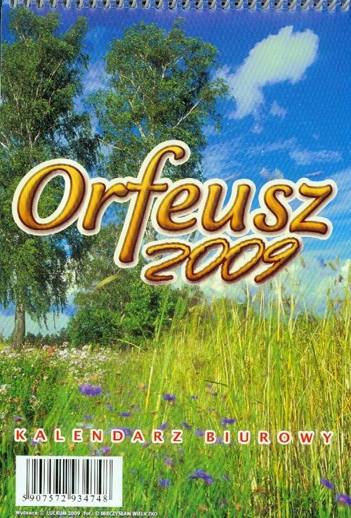 Kalendarz 2009 BF02 Orfeusz biurowy stojący