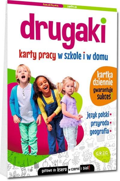 Drugaki. Karty pracy w szkole i w domu Marta Kurdziel