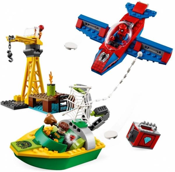 Lego Marvel: Doktor Octopus - skok na diamenty (76134)