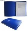 Teczka do akt osobowych niebieska binda wewnętrzna zadrukowana (1824-339-039)