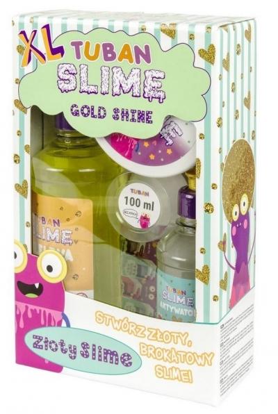 Zestaw Super Slime XL - Gold Shine (TU3174)