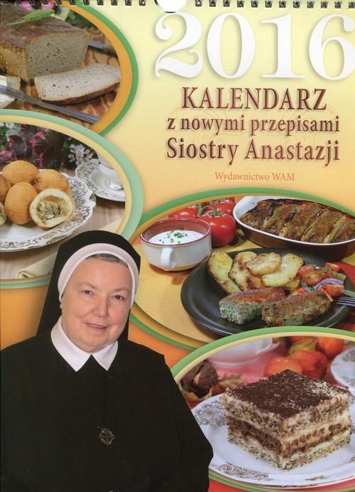 Kalendarz 2016 z nowymi przepisami Siostry Anastazji Pustelnik Anastazja