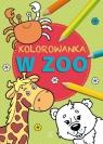 Kolorowanka Zwierzęta w zoo