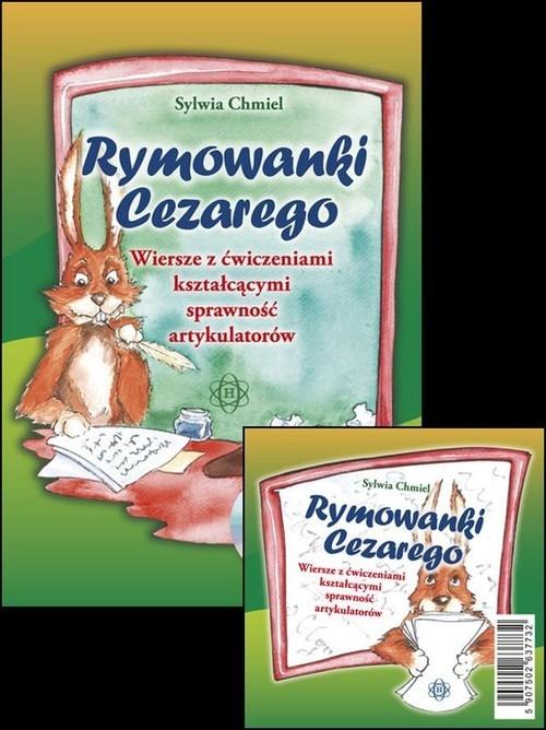 Rymowanki Cezarego z płytą CD Chmiel Sylwia