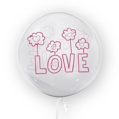 Tuban, balon 45 cm - Love (TU 3706)
