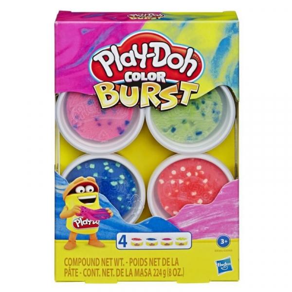 Masa plastyczna PlayDoh Color Burst Bright Pack (E6966/E8060)