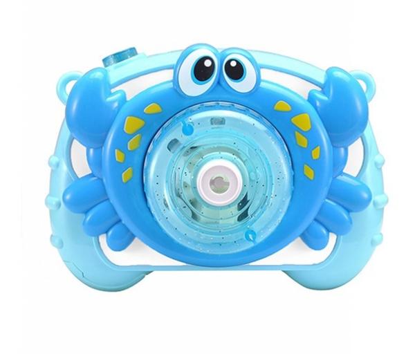 Krab robiący bańki mydlane Światło, dźwięk (003857)