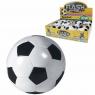 Piłka miękka czarno biała 10 cm (62175)