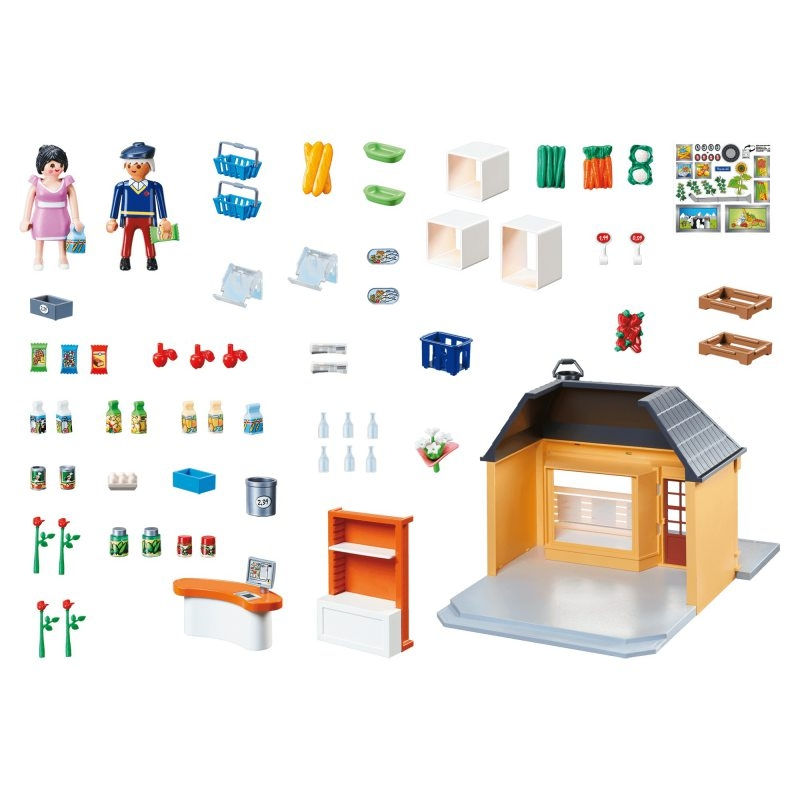 Playmobil City Life: Mój supermarket (70375)