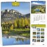 Kalendarz 2021 7 Plansz Polskie Góry EV-CORP