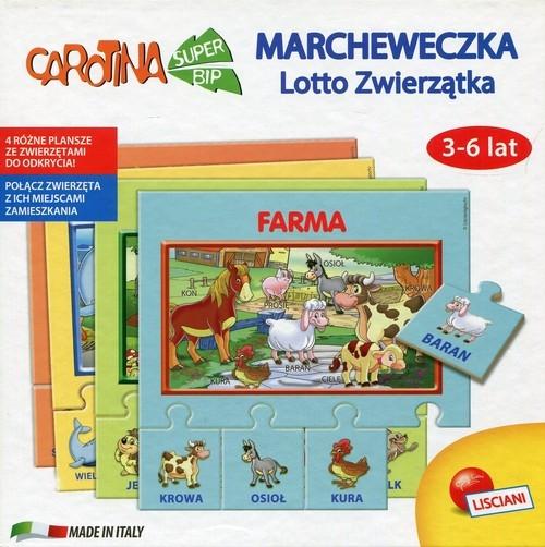 Carotina Lotto Zwierzątka 3-6 lat
