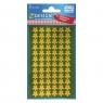 Naklejki bożonarodzeniowe Z Design - Złote gwiazdy (52805)