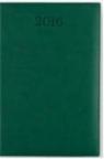 Kalendarz A5 Książkowy dzienny Vivo ciemny zielony 2016